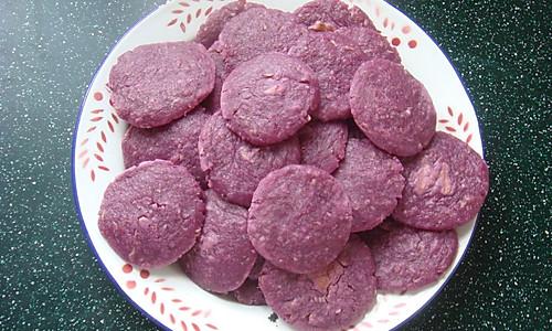 电饼铛是万能的之燕麦紫薯饼的做法
