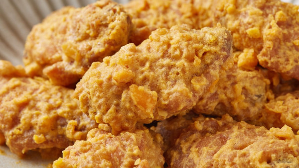 【咸蛋黄焗鸡翅】鸡飞蛋打,原来说的就是这种菜!