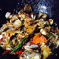 吃蟹正当时-辣炒螃蟹#我要上首页挑战家常菜#的做法图解7