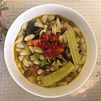 陕西精品烩麻食(猫耳朵)的做法图解12