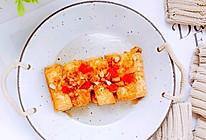 减盐不减香之蒜香煎豆腐的做法
