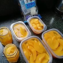 冰糖黄桃罐头