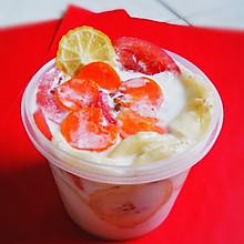 私房瘦身水果酸奶沙拉――酸奶密令