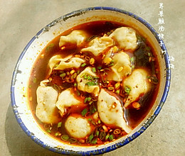 荠菜酸汤饺子的做法