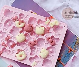大白兔奶糖味的HelloKitty巧克力的做法