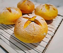 【甜】开花的南瓜蜜豆欧包的做法
