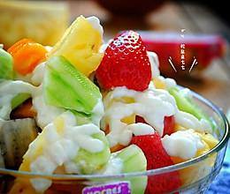 好吃不长肉——蔬果酸奶沙拉的做法