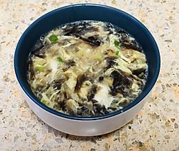 快捷简单的紫菜鸡蛋汤的做法