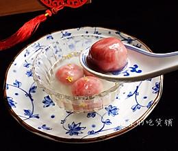 #精品菜谱挑战赛#雨花石黑芝麻汤圆的做法