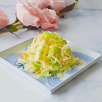 日式凉拌包心菜(昨日的美食)