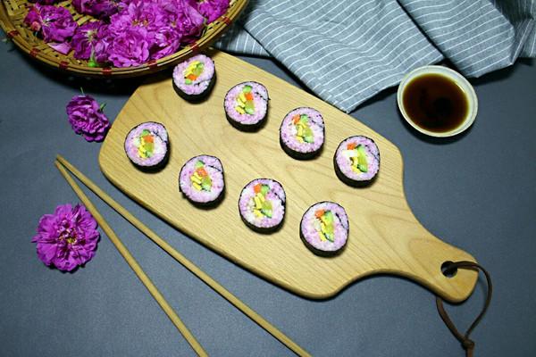 玫瑰寿司卷#理想生活实验室#的做法