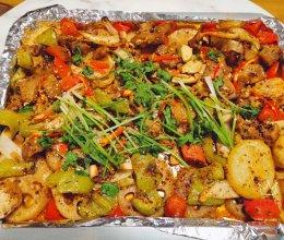 #憋在家里吃什么#比外卖还好吃的家庭烧烤的做法