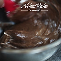 新红与黛绿-草莓巧克力裸蛋糕的做法图解7