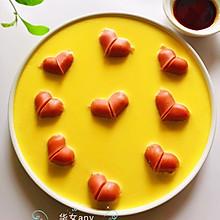丰富餐桌味/爱心香肠蒸鸡蛋