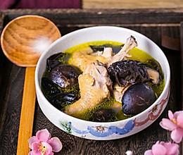 #快手又营养,我家的冬日必备菜品#香菇黑木耳炖土鸡的做法