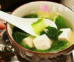 虾皮小白菜汤的做法