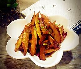 油焖春笋~快手菜的做法