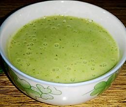 微量元素满满的宝宝辅食之西兰花米饮【6个月+】的做法