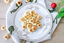 11M+山药蛋黄小萌饼:宝宝辅食营养食谱菜谱的做法