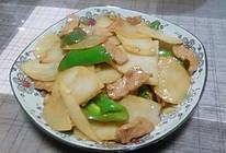 土豆片尖椒炒肉的做法
