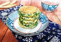 #精品菜谱挑战赛#薄如蚕翼的韭菜鸡蛋饼的做法