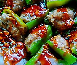 微波炉菜式之酿辣椒的做法