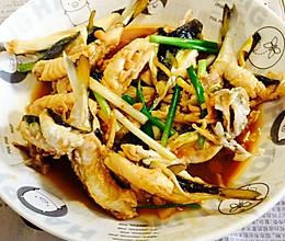 黄豆酱焖河豚(河鲀)的做法