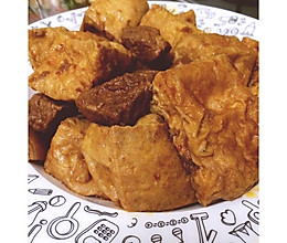 豆泡烧肉的做法