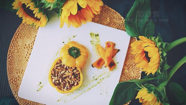 《向日葵》—黄椒瓜子仁大藏芥末酱牛排#我的玩味生活#的做法