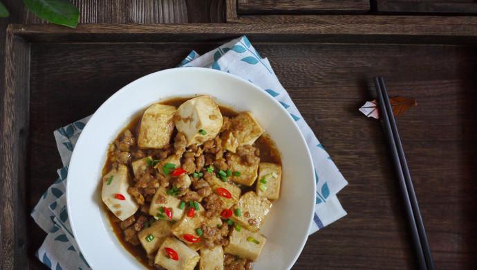 #花10分钟,做一道菜!#肉末豆腐