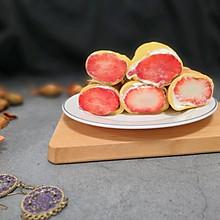不要烤箱的——草莓蛋糕卷