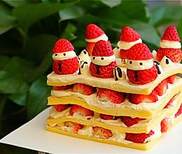 圣诞裸蛋糕的做法