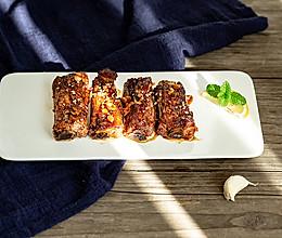 五香烤猪肋排的做法