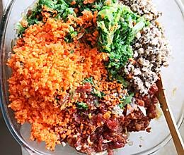 白菜香菇胡萝卜馅饺子的做法