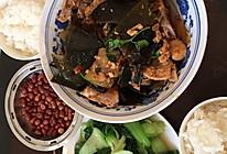 腔骨冬瓜海带汤的做法