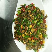 韭菜螺丝肉