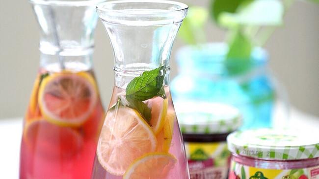 樱桃柠檬水的做法