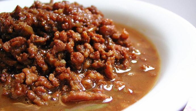 经典复刻:台湾卤肉饭的肉臊子(拌面拌饭万用卤肉酱)