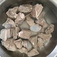 #资深营养师#秋后进补冬瓜排骨汤的做法图解4