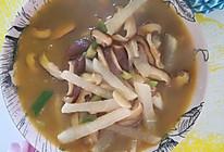 清淡香菇白萝卜汤的做法