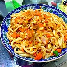 黑椒鲜蔬培根炒粉
