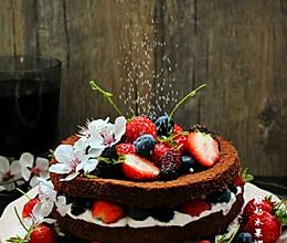 酸奶水果裸蛋糕的做法
