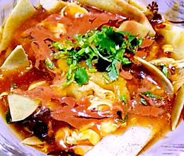 锅巴菜(天津传统早点)的做法