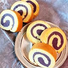 紫薯芋泥蛋糕卷