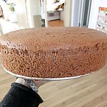 十寸可可戚风蛋糕