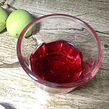 杨梅玫瑰茄酒