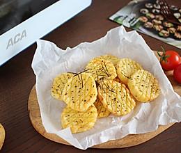 【黑胡椒薯饼】解馋又低脂的小零食的做法