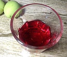 杨梅玫瑰茄酒的做法