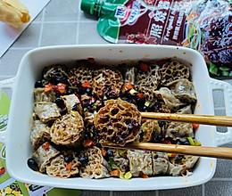 #夏日开胃餐#照烧酱吸汁荞麦面藕,低脂肪又健康的减肥食品的做法