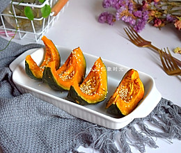 蜜烤南瓜,满满饱腹感,热量不高还能补血养颜#秋天怎么吃#的做法